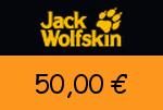 Jack-Wolfskin 50,00 € Gutscheincode