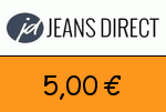 Jeans-direct 5,00€ Gutschein