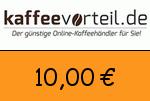 Kaffeevorteil 10,00 Euro Gutscheincode