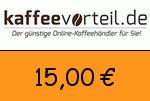 Kaffeevorteil 15 Euro Gutscheincode