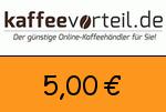 Kaffeevorteil 5,00€ Gutscheincode