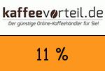 Kaffeevorteil 11 Prozent Gutschein