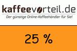 Kaffeevorteil 25 Prozent Gutscheincode