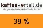 Kaffeevorteil 38 Prozent Gutschein
