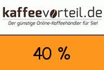 Kaffeevorteil 40 Prozent Gutscheincode