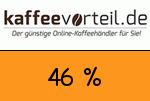 Kaffeevorteil 46 Prozent Gutschein