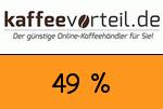 Kaffeevorteil 49 Prozent Gutschein