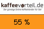 Kaffeevorteil 55 Prozent Gutschein