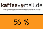 Kaffeevorteil 56 Prozent Gutschein