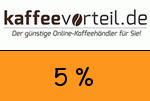 Kaffeevorteil 5 Prozent Gutscheincode