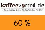 Kaffeevorteil 60% Gutschein
