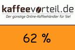 Kaffeevorteil 62 Prozent Gutschein