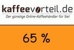 Kaffeevorteil 65 Prozent Gutscheincode