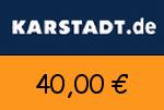 Karstadt 40,00 Euro Gutscheincode