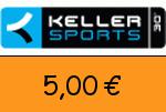 Keller-Sports 5,00€ Gutscheincode