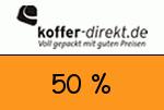 Koffer_direkt 50 % Gutschein