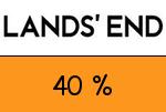 LandsEnd 40 Prozent Gutscheincode