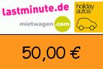 Lastminute.de 50,00 € Gutscheincode