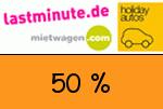 Lastminute.de 50 % Gutschein