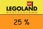 Legoland 25 Prozent Gutschein