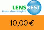 Lensbest 10,00 Euro Gutschein