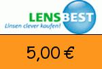 Lensbest 5,00€ Gutscheincode