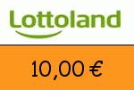 Lottoland 10,00 Euro Gutschein
