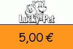 Lucky-Pet 5,00€ Gutscheincode