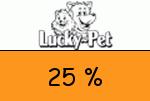 Lucky-Pet 25 Prozent Gutschein