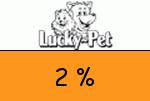 Lucky-Pet 2 Prozent Gutschein