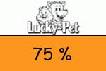 Lucky-Pet 75 Prozent Gutschein