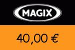 Magix 40,00 Euro Gutschein