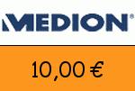 Medion 10,00 Euro Gutschein