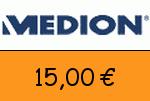 Medion.at 15 Euro Gutschein