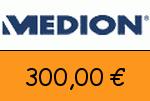 Medion.at 300,00 Euro Gutschein