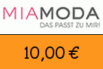 Mia-Moda 10,00 Euro Gutschein