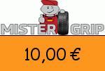 Mistergrip 10,00 Euro Gutschein
