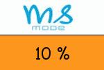 MS-Mode 10 Prozent Gutschein