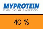 Myprotein 40 Prozent Gutscheincode