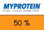 Myprotein 50 % Gutscheincode