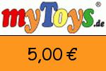 MyToys 5,00€ Gutschein