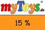 MyToys 15 % Gutscheincode