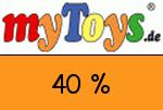 MyToys 40 Prozent Gutschein
