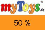MyToys 50 % Gutschein
