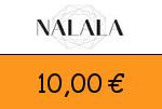 Nalala 10,00 Euro Gutscheincode