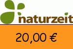 naturzeit.com 20 € Gutscheincode
