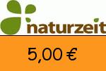 naturzeit.com 5,00€ Gutschein