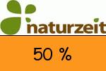naturzeit.com 50 % Gutschein