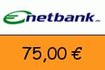 Netbank 75,00 Euro Gutschein