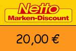 Netto 20 € Gutscheincode